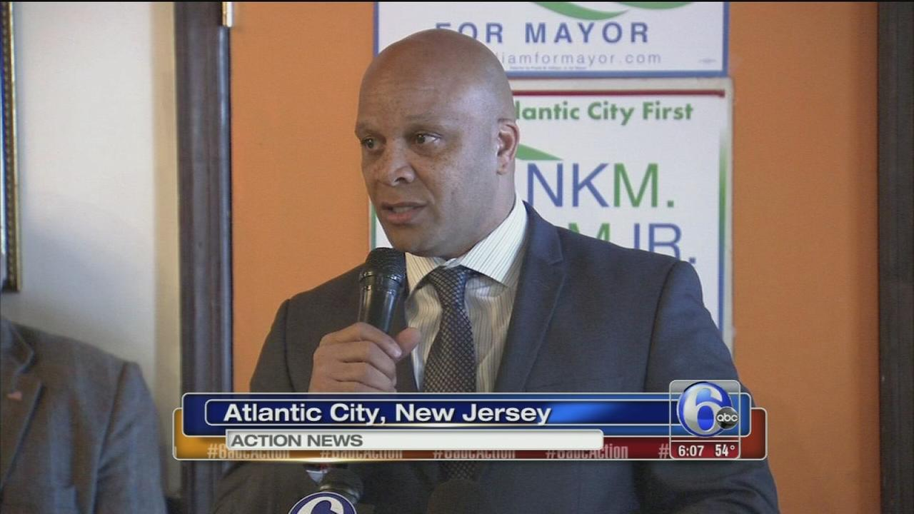 Frank Gilliam running for AC mayor