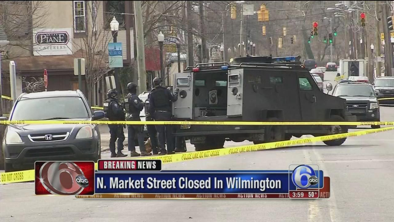 Double shooting investigation closes Wilmington street