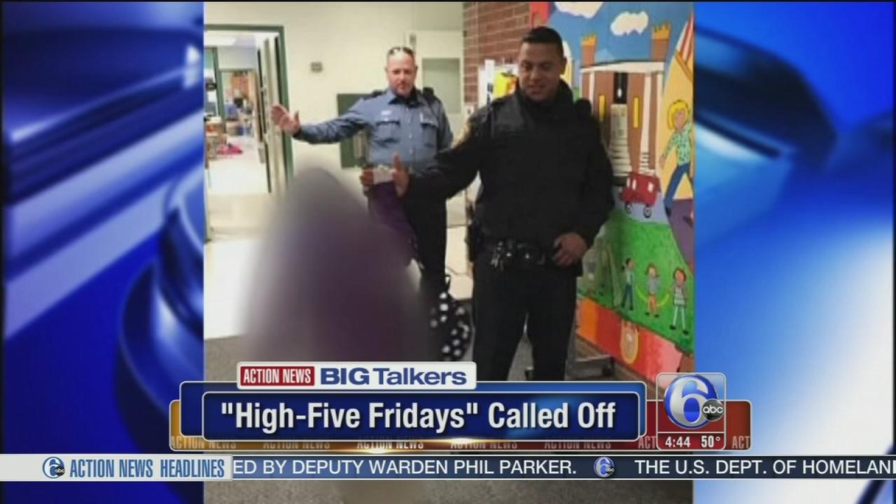 Massachusetts police end visits to schools to greet kids