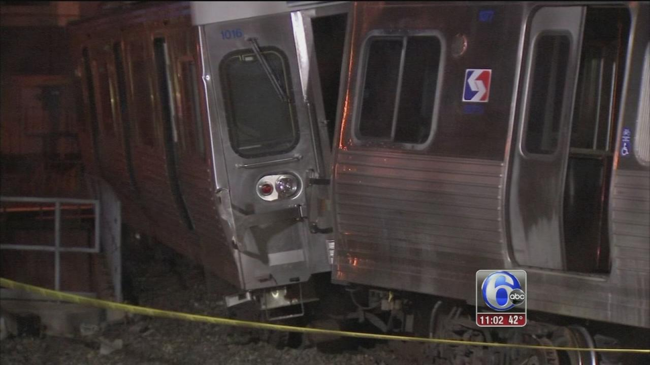Operator critically injured in Upper Darby train crash