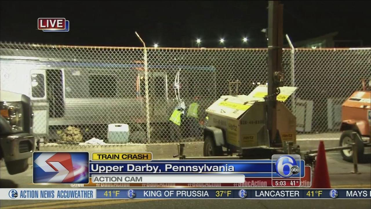 Delays possible following SEPTA rail crash