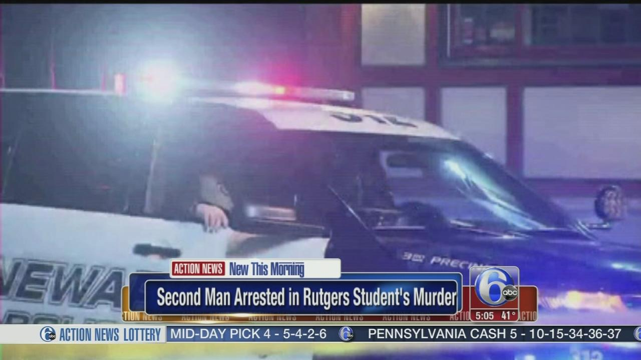 2nd arrest in murder of Rutgers student