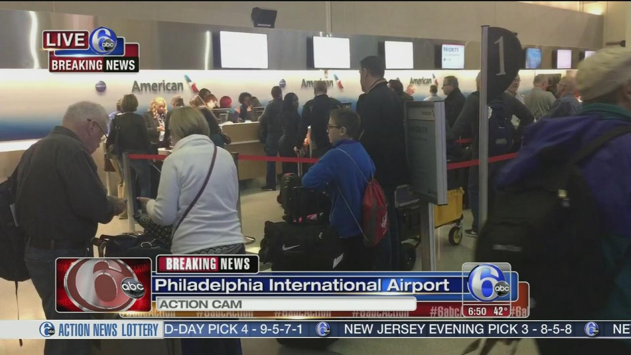 Delays for American Airlines passengers