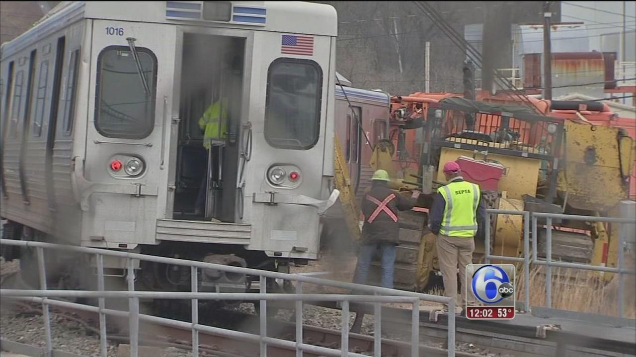 Cleanup continues after Upper Darby SEPTA crash