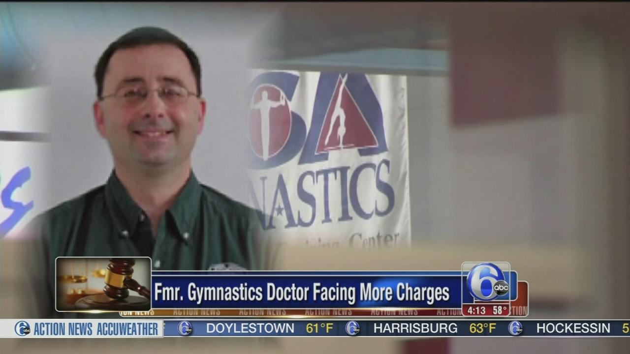 Former USA Gymnastics doctor charged with sexual assault