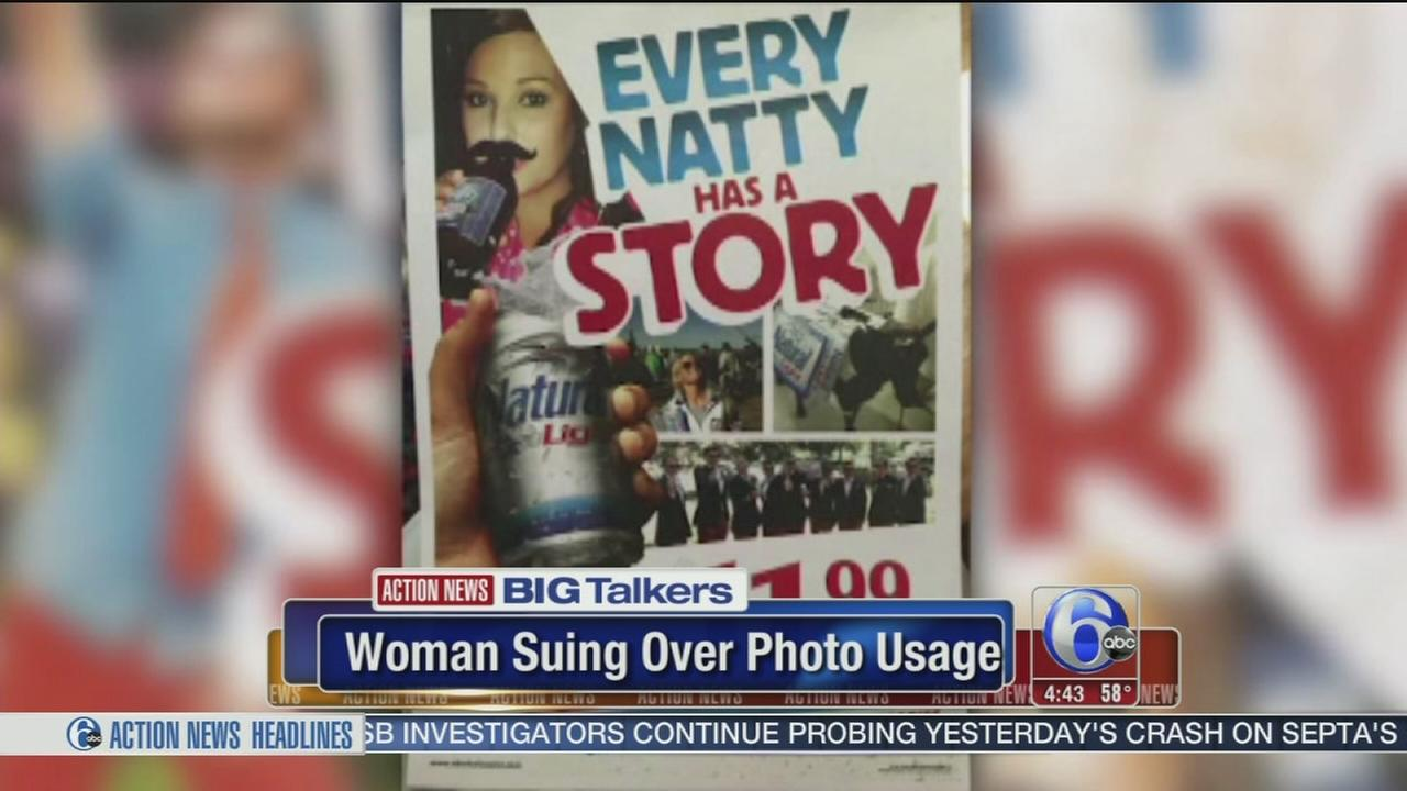 Woman sues Anheuser-Busch for using her picture in ads