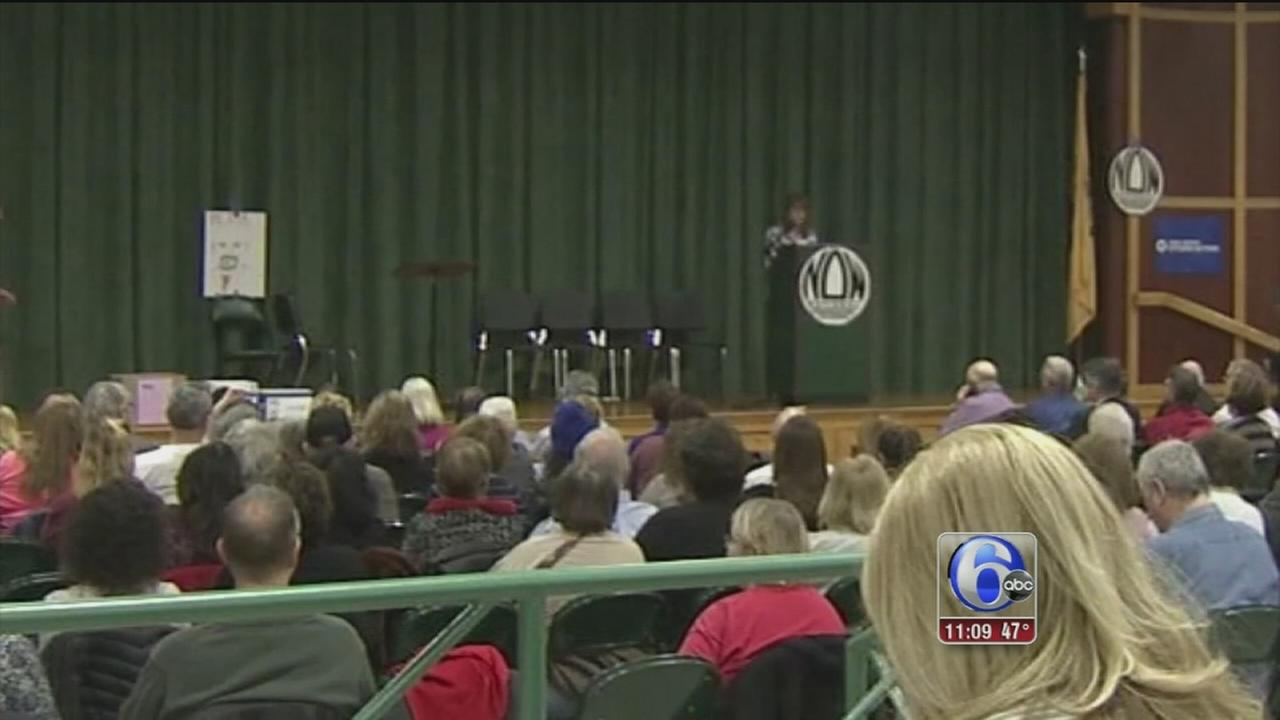 Frustration, anger at NJ town hall