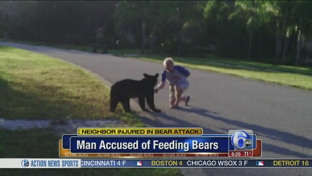 VIDEO: Man charged after bear attacks neighbor