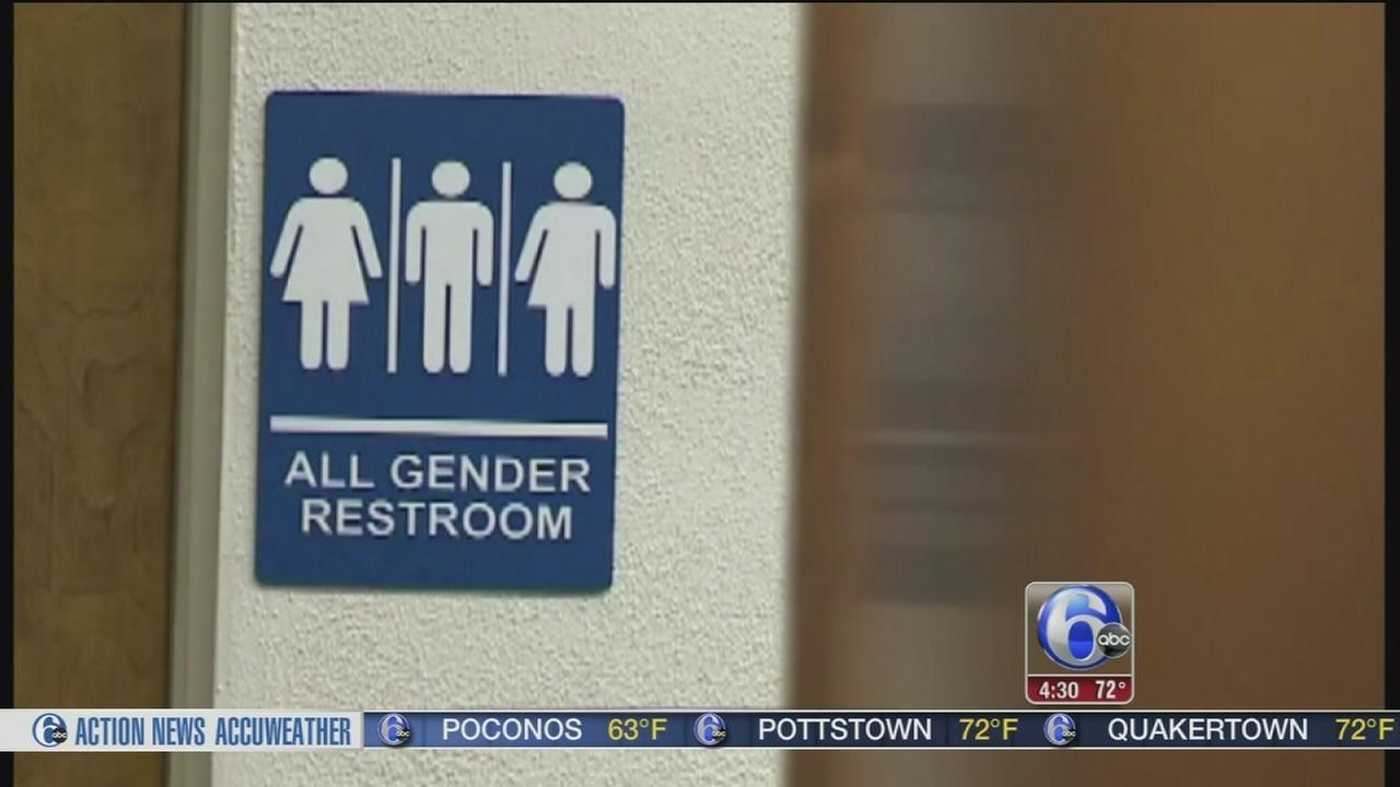 Local reaction to Trumps transgender bathroom stance