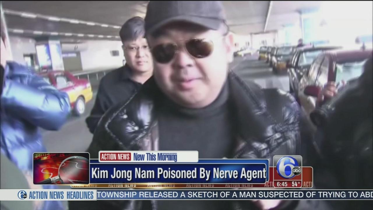 Kim Jong Nam poisoned by VX nerve agent