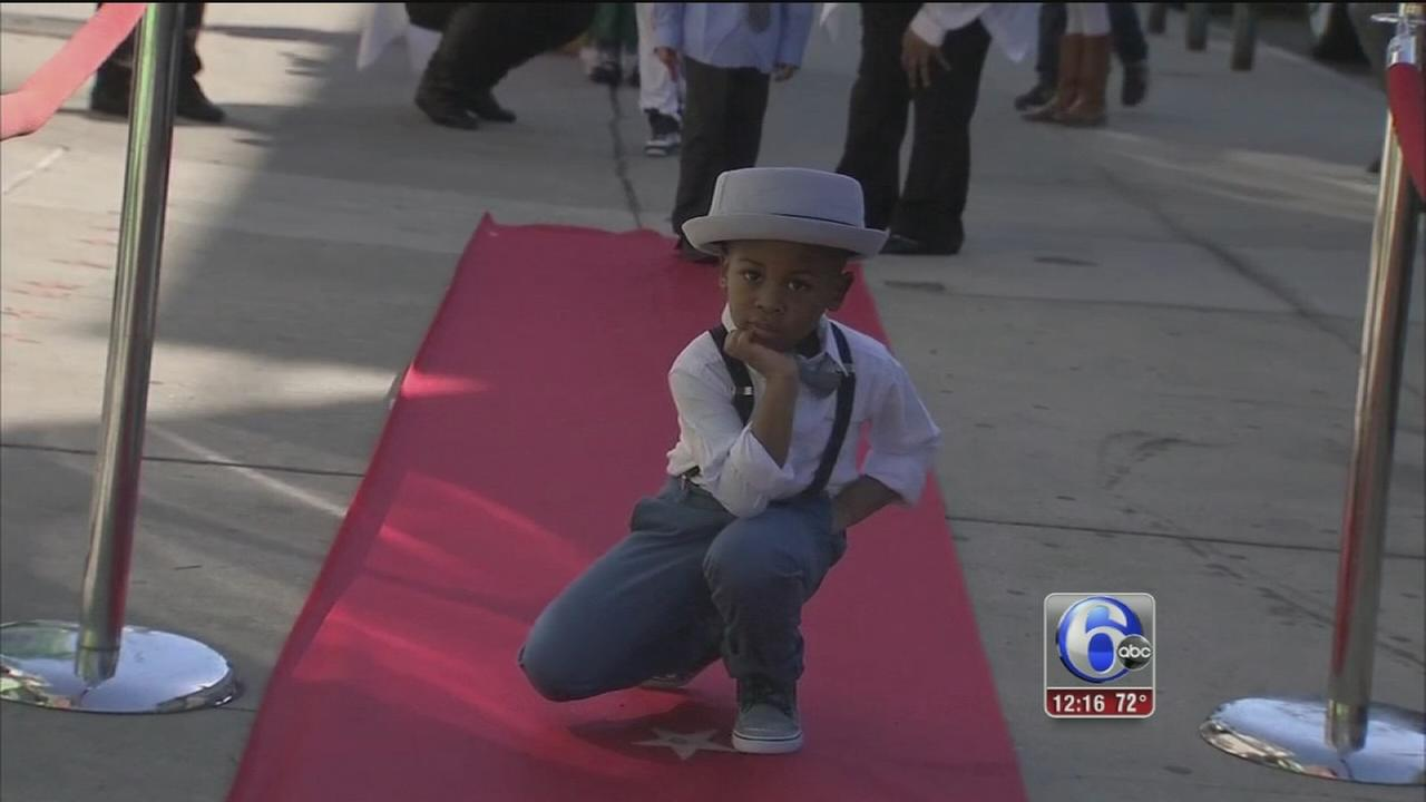 Youngsters walk the red carpet for their own Oscars in West Philadelphia