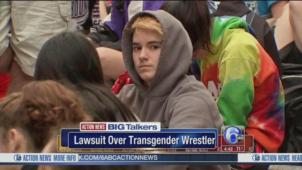 Transgender boy wins in first round of girls wrestling tournament