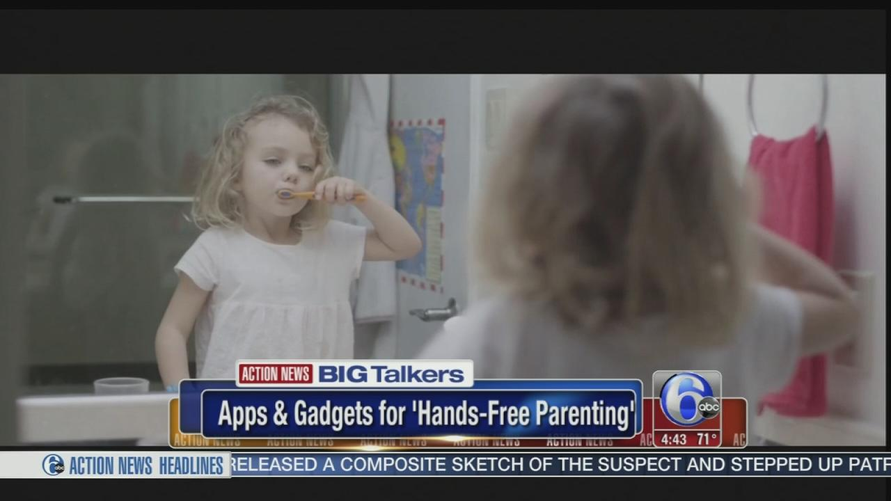 New apps promise help make parenting more hands-free