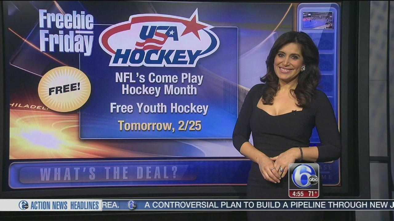 Freebie Friday: Slurpees, youth hockey events, waxing