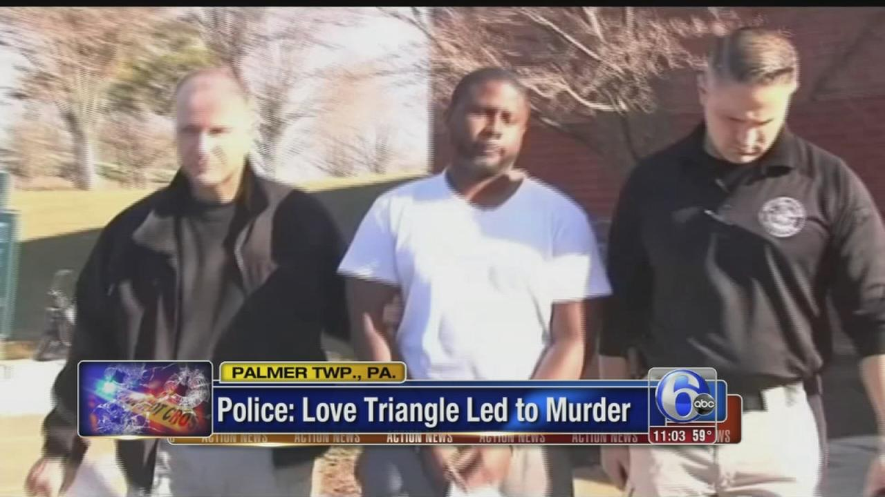 Police: Love triangle led to murder in Northampton County