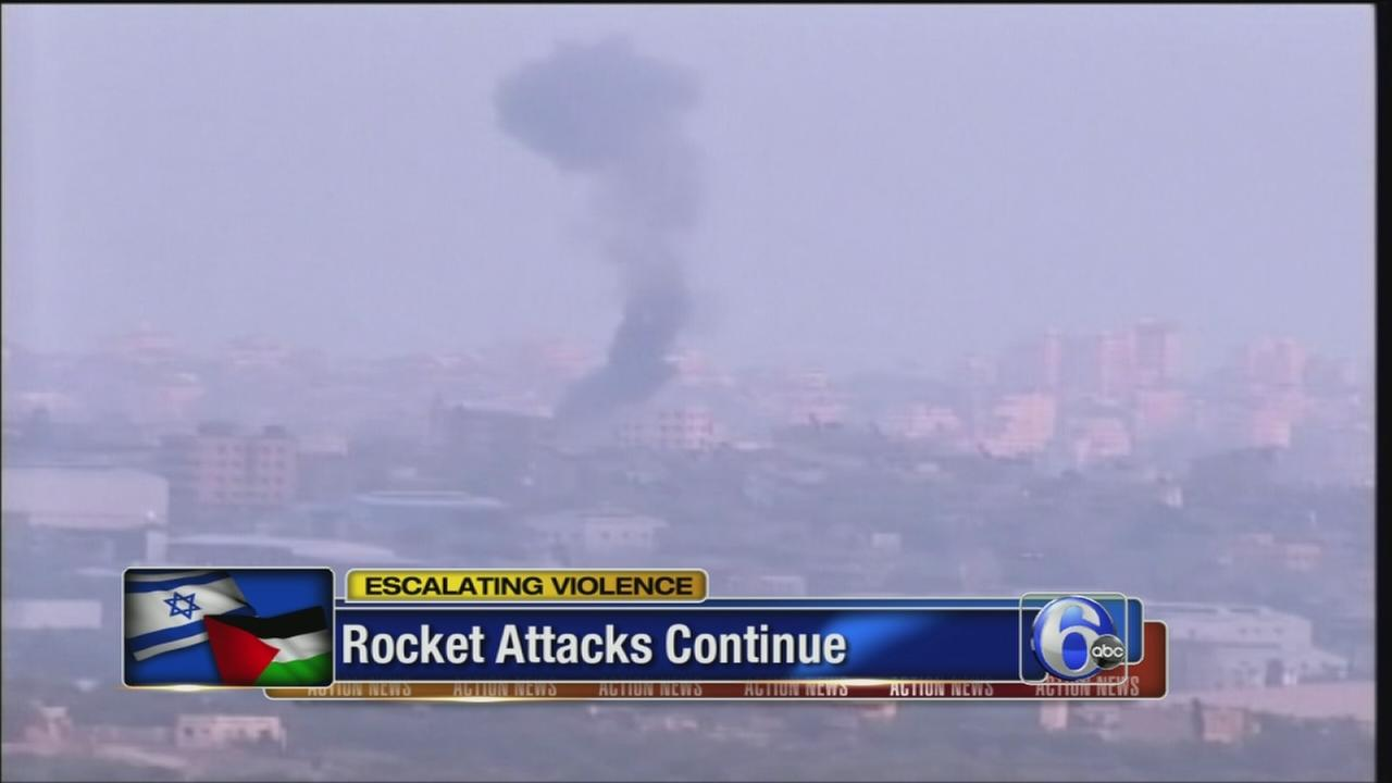 VIDEO: Over 100 killed in Gaza as rockets fall on Israel