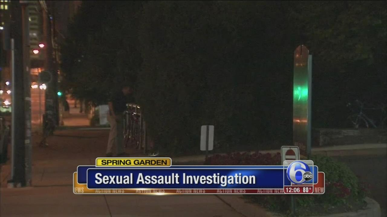 VIDEO: Reported sex assault in Spring Garden