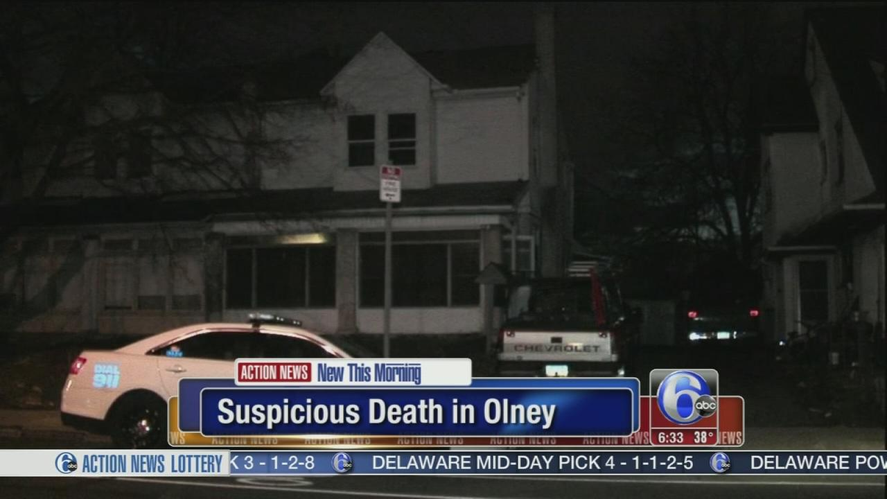 Suspicious death investigated in Olney