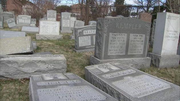<div class='meta'><div class='origin-logo' data-origin='none'></div><span class='caption-text' data-credit=''>Pictured: Damage at the Mt. Carmel Cemetery on the corner of Frankford and Cheltenham avenues in Philadelphia on Sunday, February 26.</span></div>