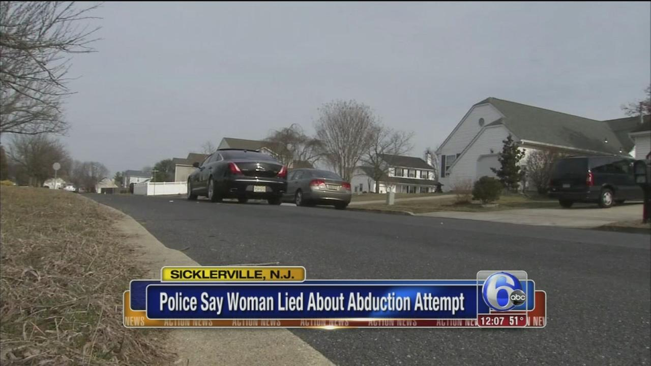 Police: Woman lied about abduction attempt