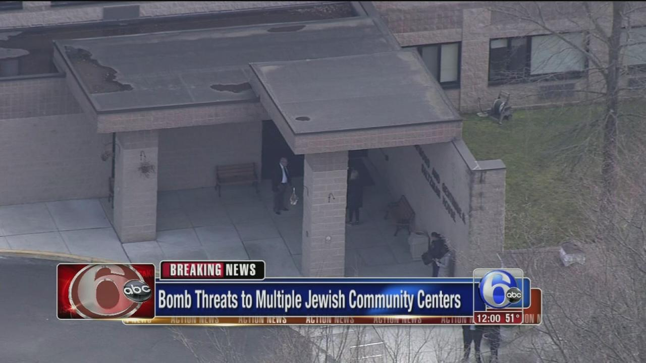 Threats made against Jewish community centers in NJ, Del.