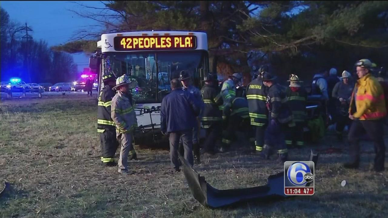 DART bus involved in crash