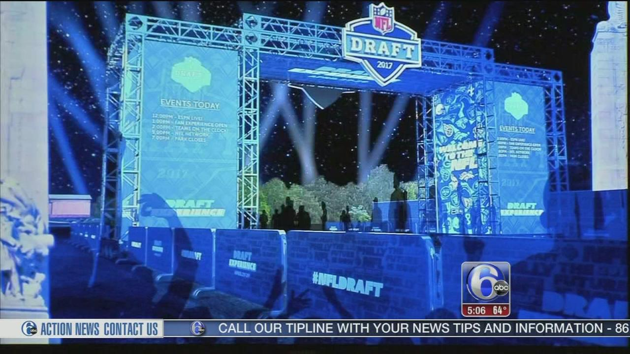 Festivities during NFL Draft in Philly announced