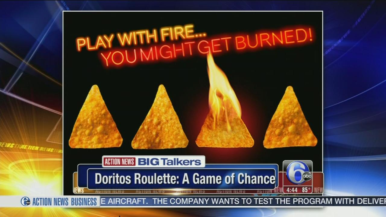 VIDEO: Take a chance with Doritos Roulette