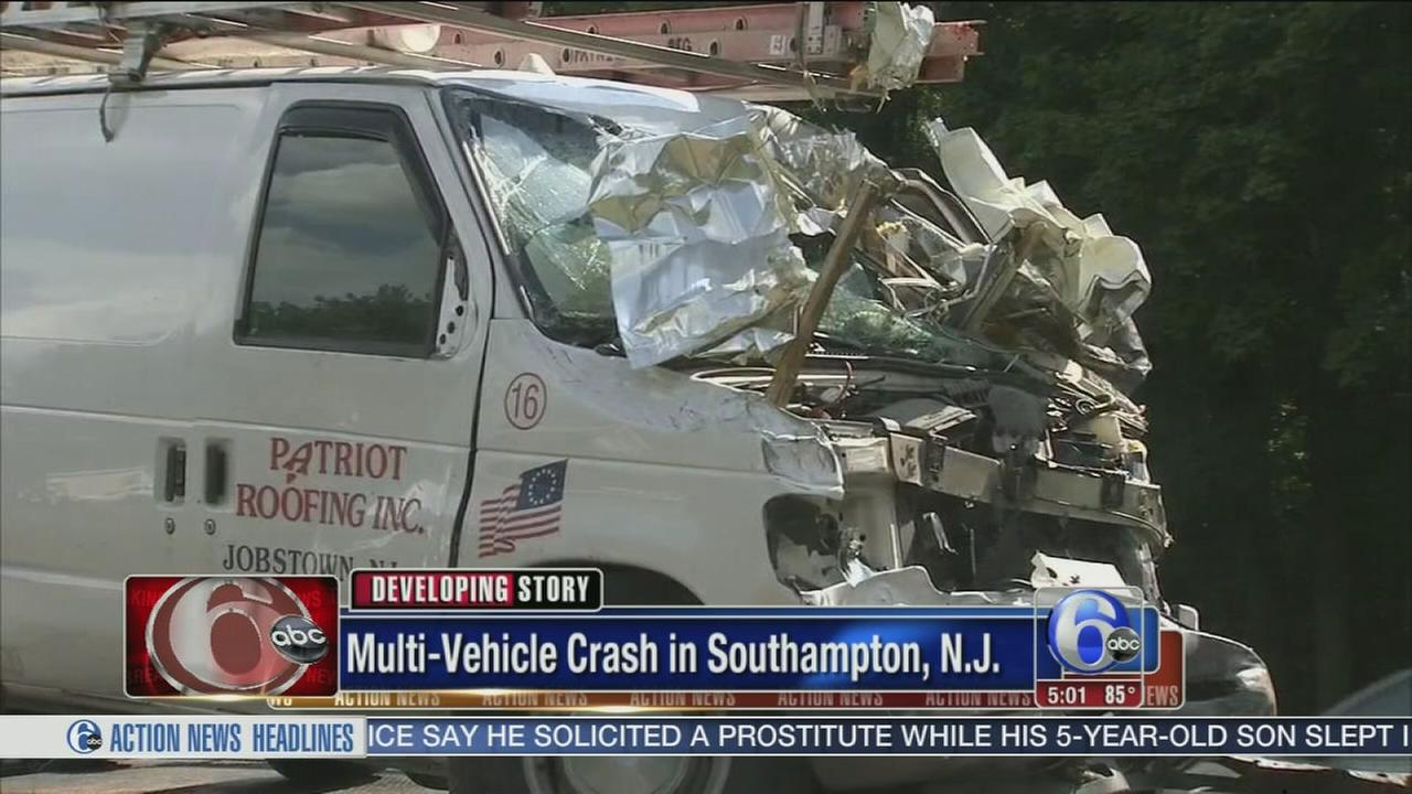 VIDEO: Infant seriously injured in Southampton crash