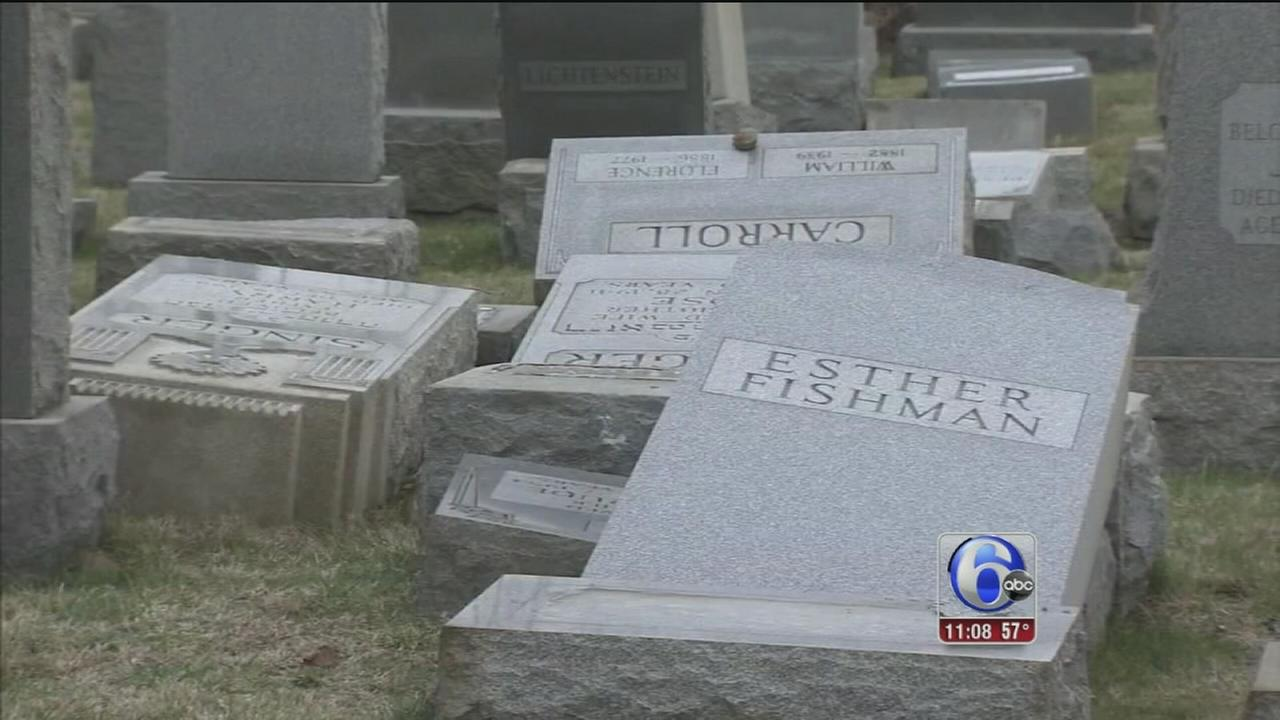 $50K reward offered in cemetery vandalism