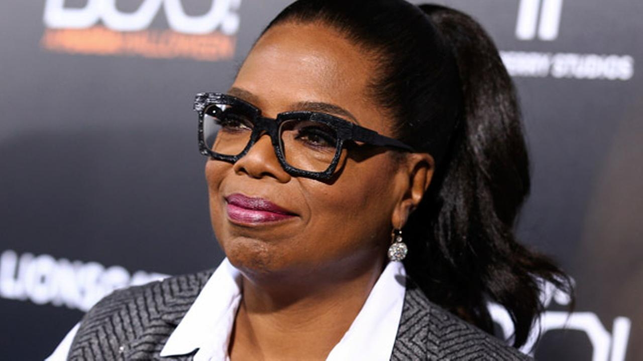 FILE - In this Oct. 17, 2016 file photo, Oprah Winfrey attends the world premiere of BOO! A Madea Halloween in Los Angeles.