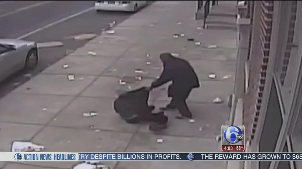 Suspect sought after women robbed in West Philly