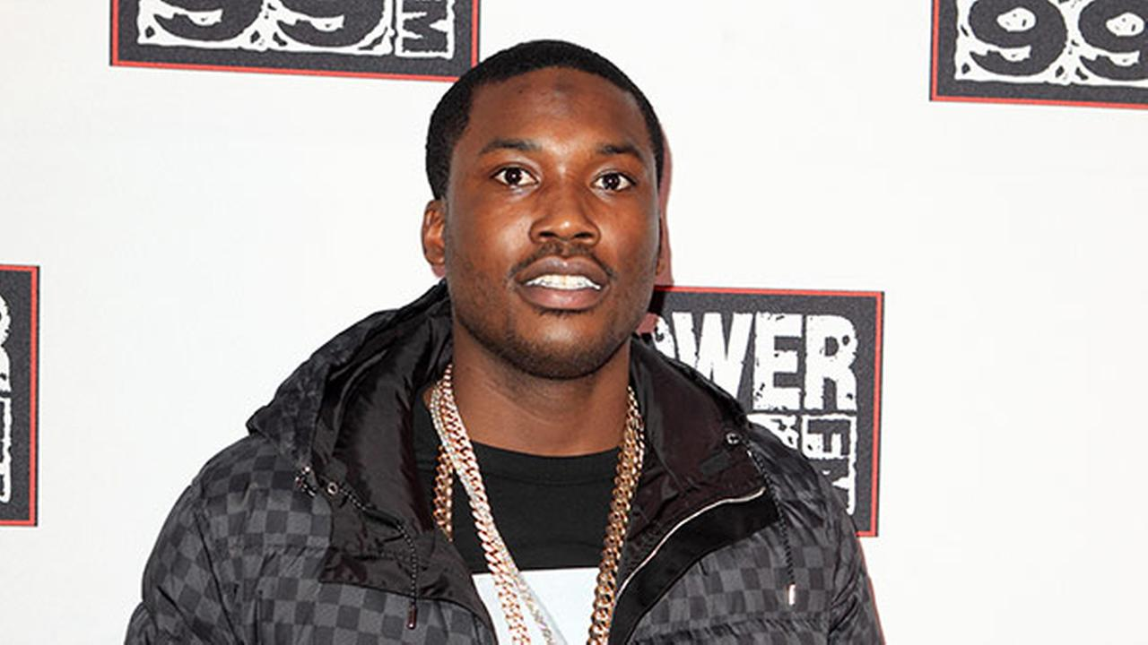 Meek Mill performs during the Power 99 Powerhouse 2013 concert at the Wells Fargo Center on Friday, October 25, 2013, in Philadelphia. (Photo by Owen Sweeney/Invision/AP)