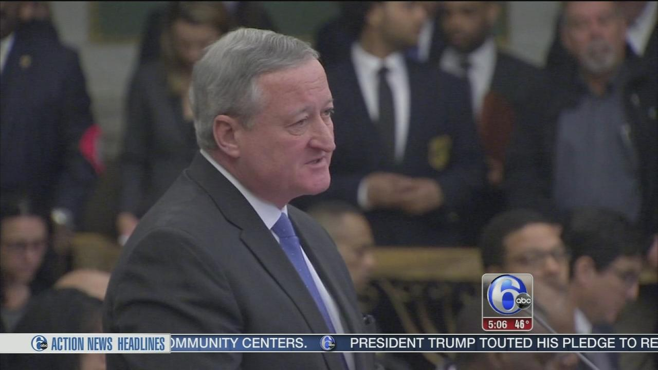 Mayor Kenney presents $4 billion city budget