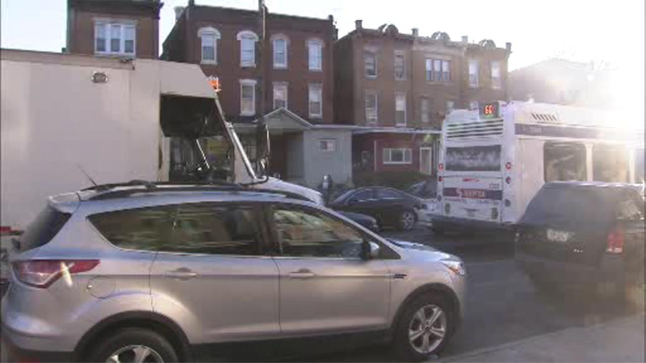 Twelve people were injured after a SEPTA bus and a Philadelphia Water Department truck collided in North Philadelphia.