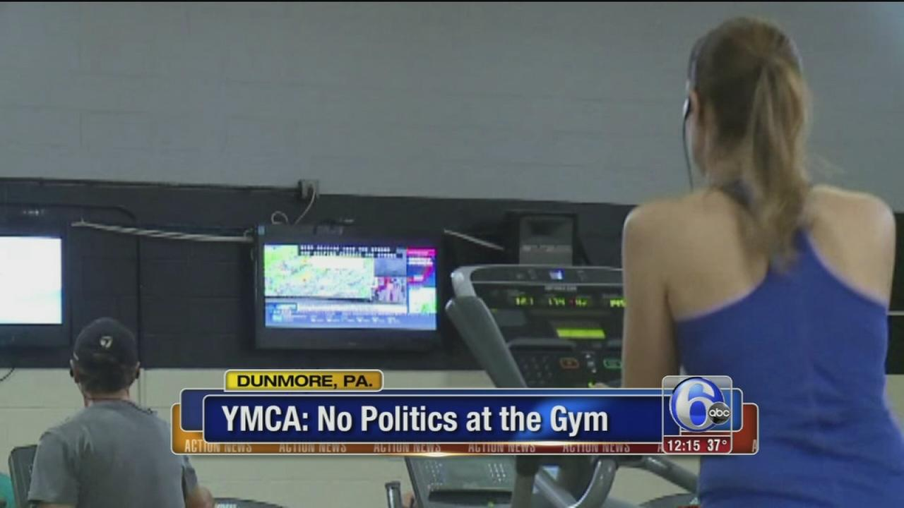 Arguments prompt news channel ban at Pa. YMCA