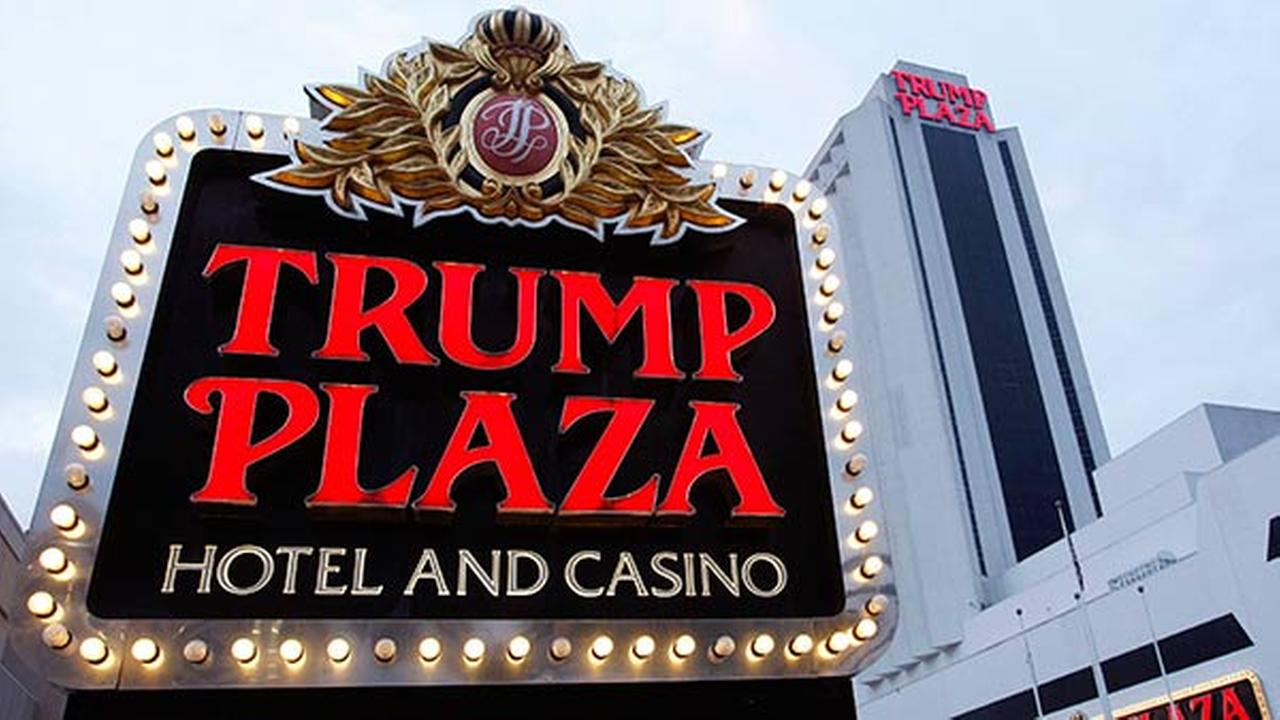 In this Tuesday, Oct. 12, 2010 photograph, the Trump Plaza Hotel Casino is seen in Atlantic City, N.J. (AP Photo/Mel Evans)
