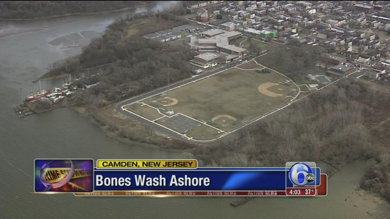 Human bones found near North Camden park