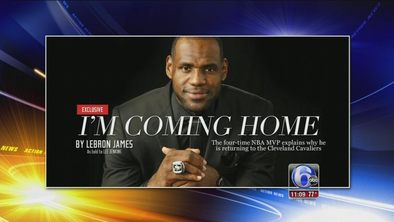 VIDEO: LeBron returning to Cleveland
