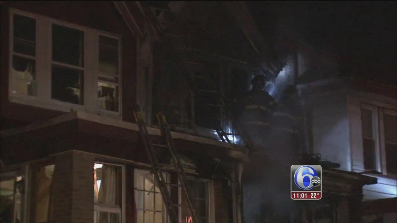 Child critical, parents hurt in West Oak Lane house fire
