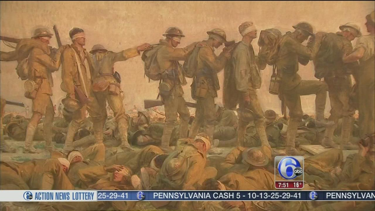 6abc Loves the Arts: PAFA - WWI and American Art
