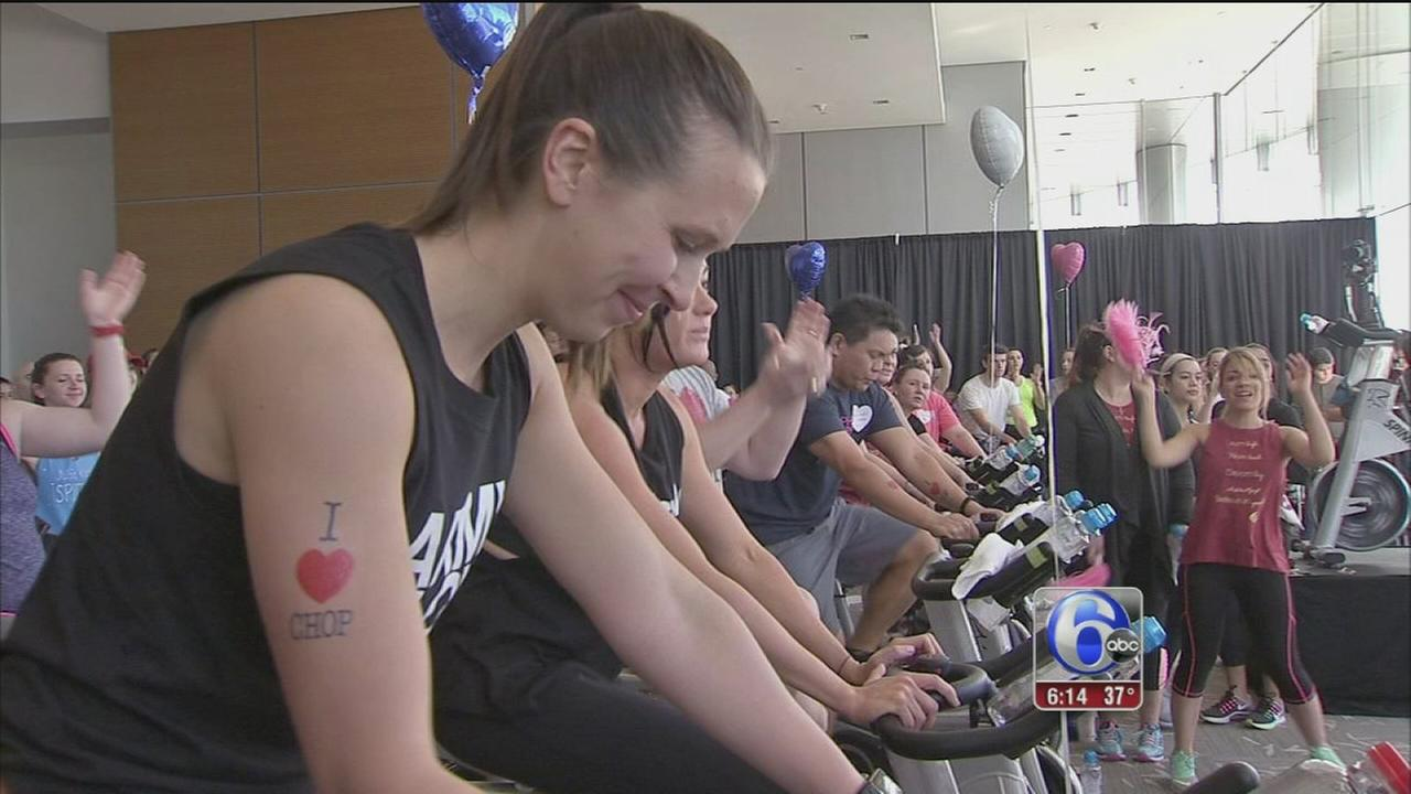 Philly Spin-In raises money for CHOPs Cardiac Center