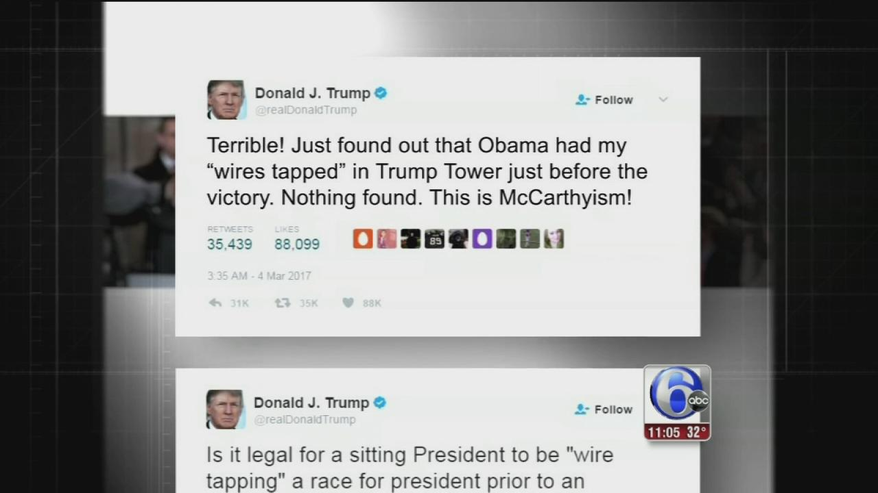 Trump seeks Congress help on wiretap claim; FBI disputes it