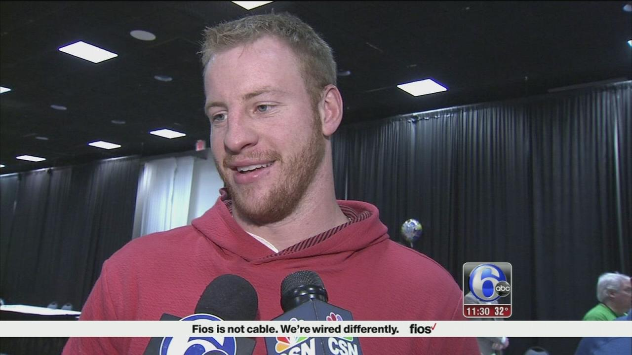 Carson Wentz excited to see how Eagles build 2017 roster
