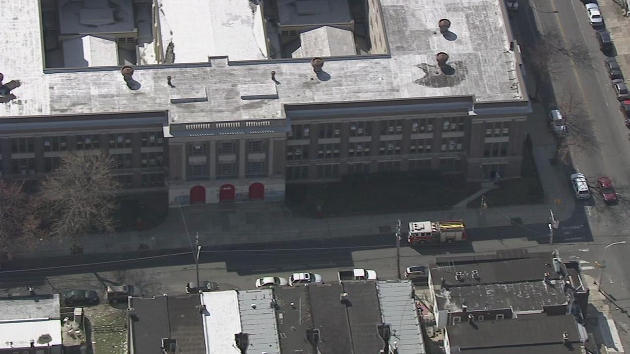 VIDEO: Small fire at Philadelphia school