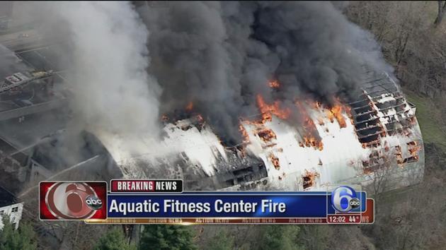 VIDEO: Aquatic Fitness Center fire