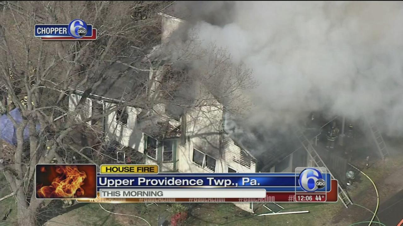 Fire damages home in Upper Providence