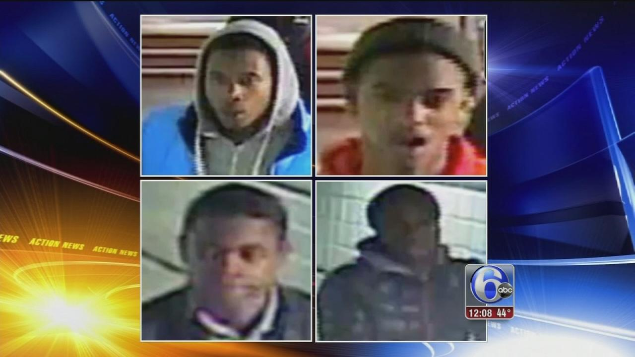 Suspects sought in beating, robbery