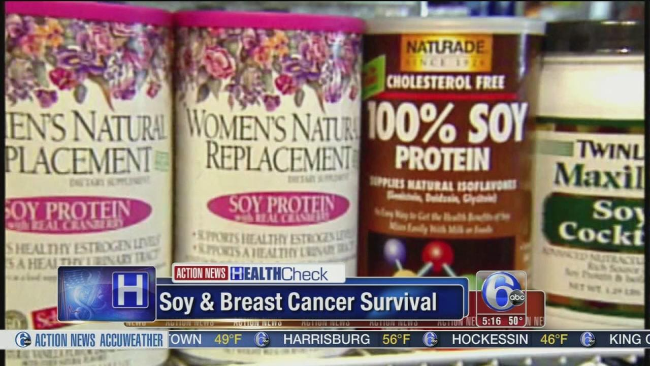 Study: Eating soy may help with breast cancer