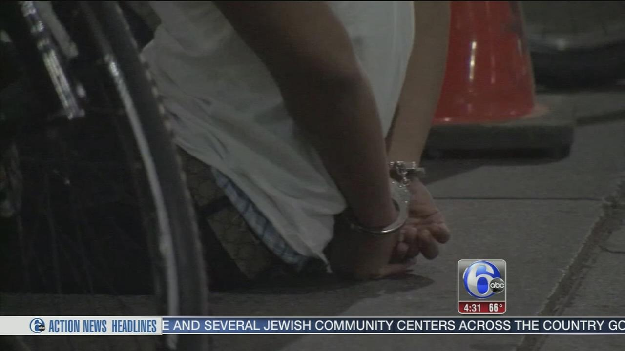 25 arrested after pandemonium in Center City